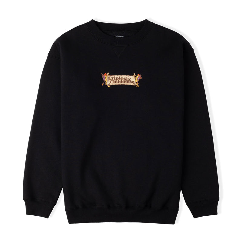 Triple 6 Clubhouse Scroll Crewneck Product Photo