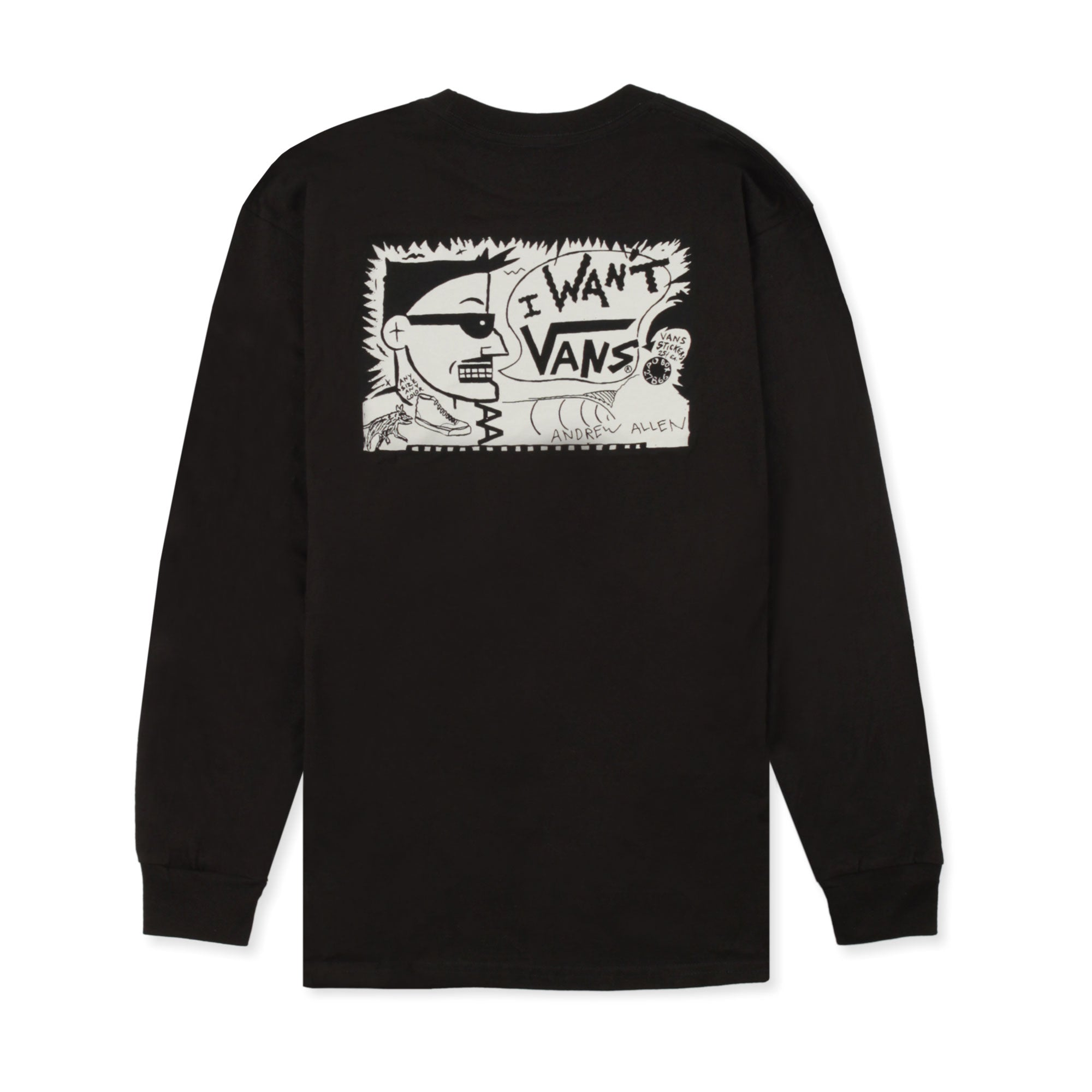 Vans X AA Hockey Longsleeve Tee Product Photo #2