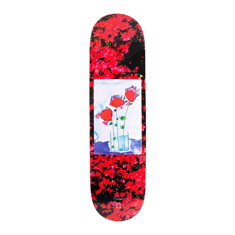 WKND Roses Are Red Deck Product Photo