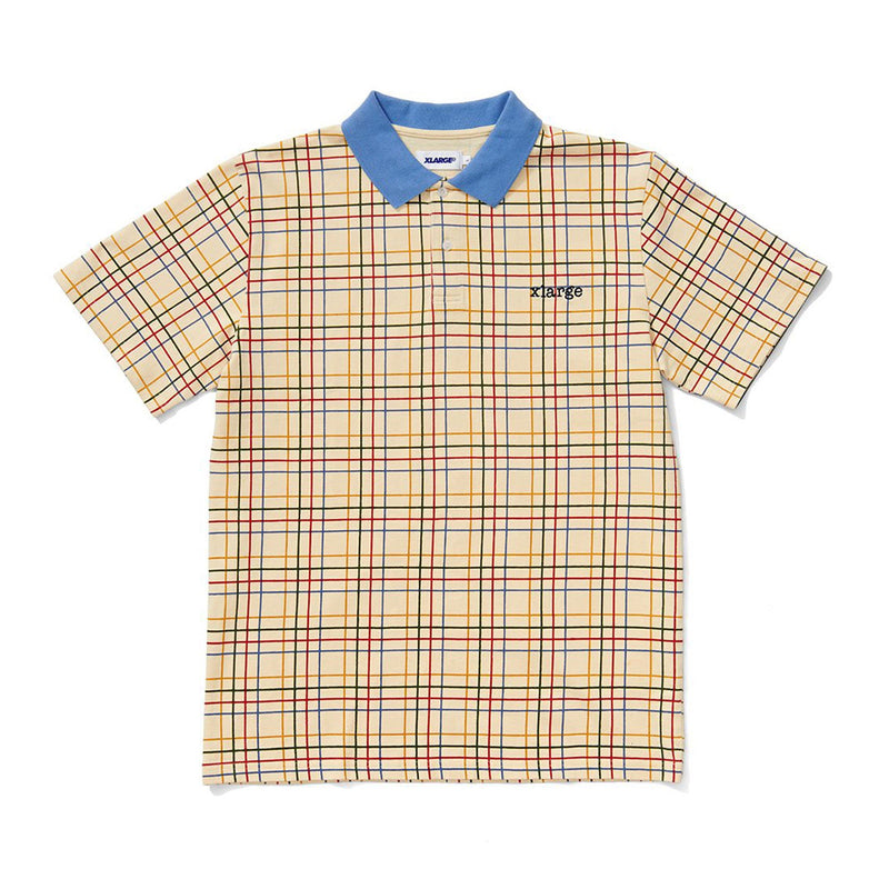 X Large Check Polo S/S Shirt Product Photo
