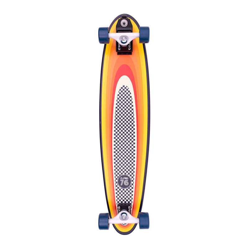 Z-Flex Surf-A-Gogo Log Roll Surfskate Complete Product Photo