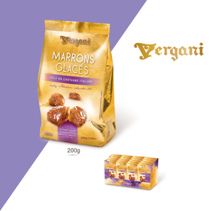 Vergani Marrons Glacees 200g
