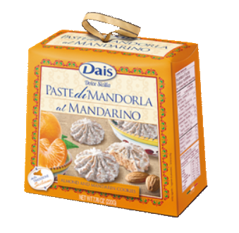Dais Almond Paste Cookies Mandarine 220gr