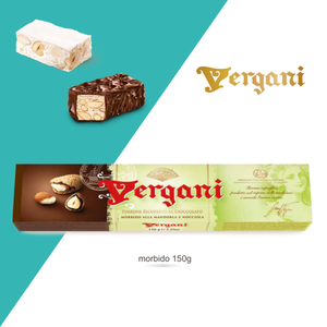 Vergani Nougat Chocolate Covered 150g