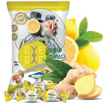 Magnini Candy Bags Bye Ginger Lemon 130g