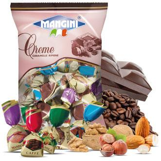 Magnini Candy Bags Mint Licorice Centre 150g