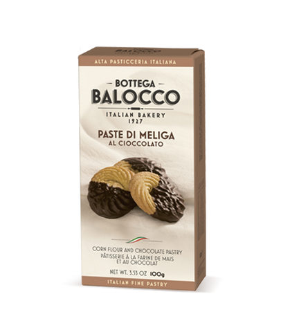 Balocco Bottega Cookies Paste Meliga chocolate 100g