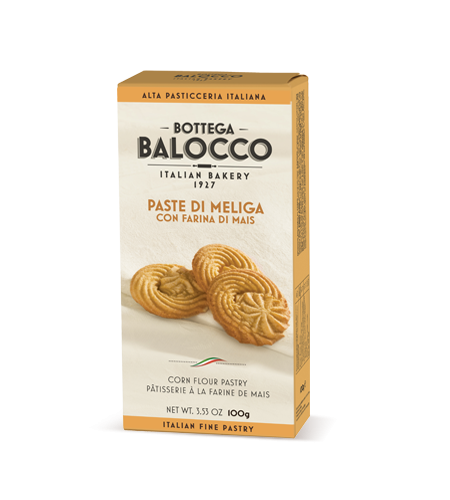 Balocco Bottega Cookie Line Paste Meliga 80g
