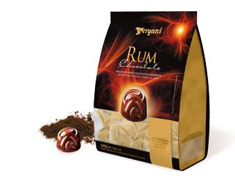 Vergani Rum Chocolate 200g