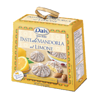 Dais Almond Paste Cookies Lemon 220gr