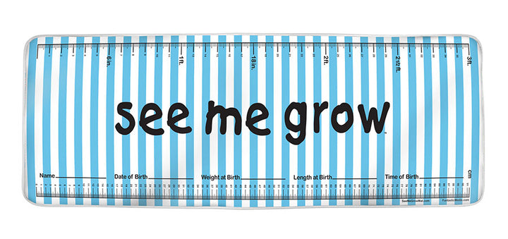 Blue Strips See Me Grow™ Mat