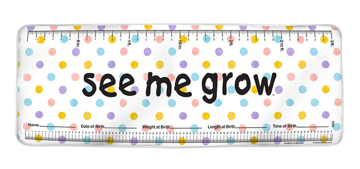 Multicolor Dots See Me Grow™ Mat