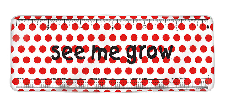 Red Dots See Me Grow™ Mat