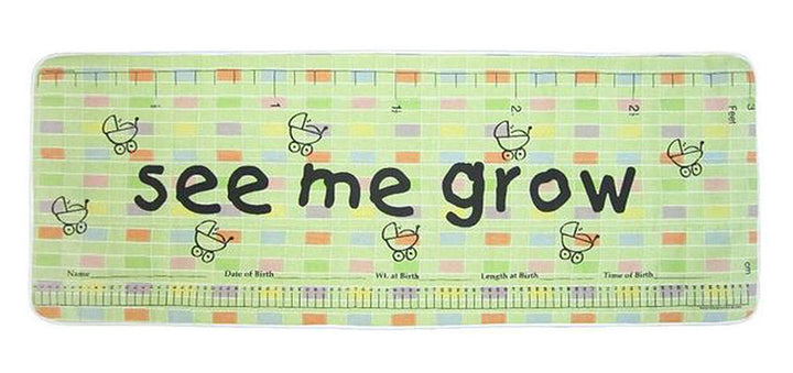 Sweet Pea Green See Me Grow™ Mat