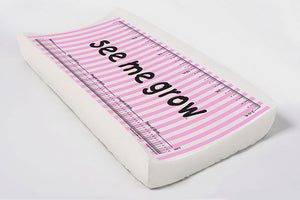 Pink Stripes Elastic Cover