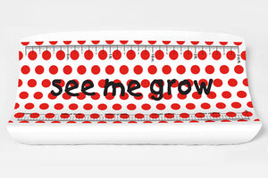 Red Dots Elastic Cover