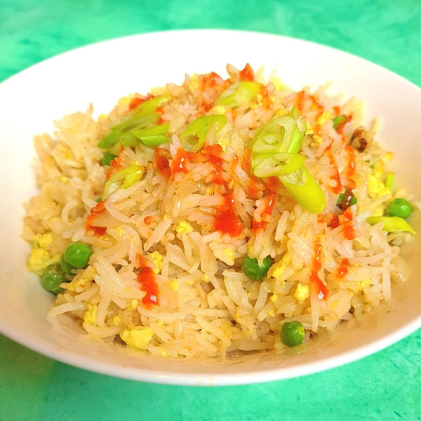 Vegan 'Egg' Fried Rice