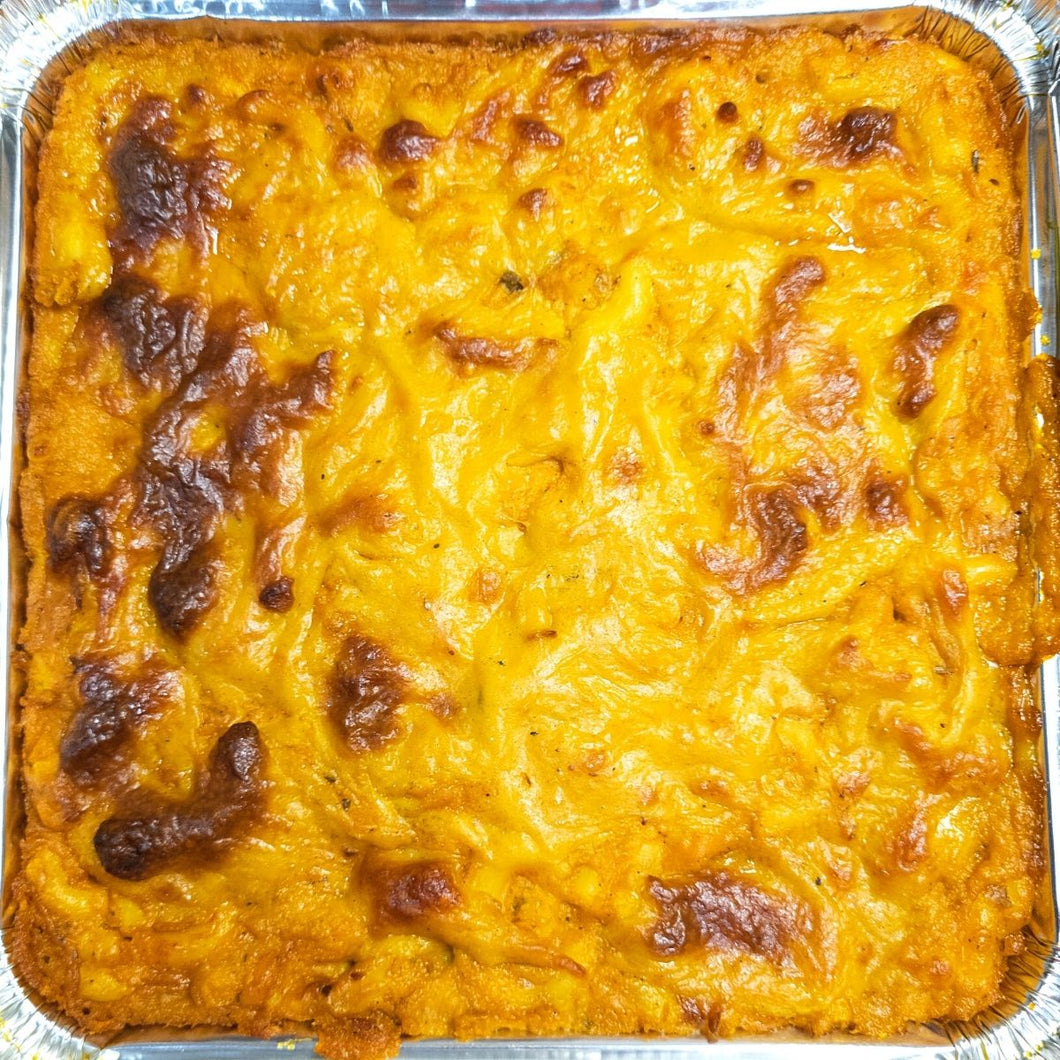 Vegan Barbados Macaroni Pie