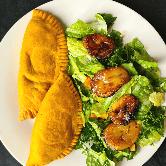 Original Caribbean Vegan Patties - Island Love Gourmet