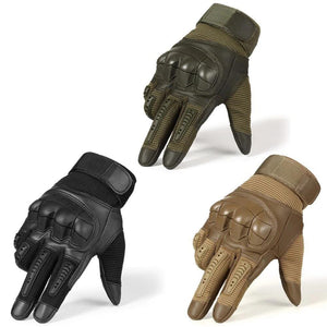 Tactical Leather Gloves™