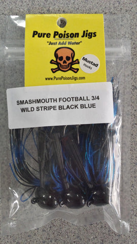 Pure Poison Smashmouth Football Jig
