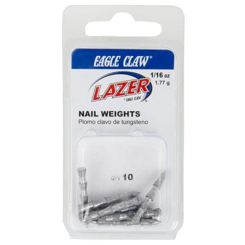 Eagle Claw Lazer Nail Weights
