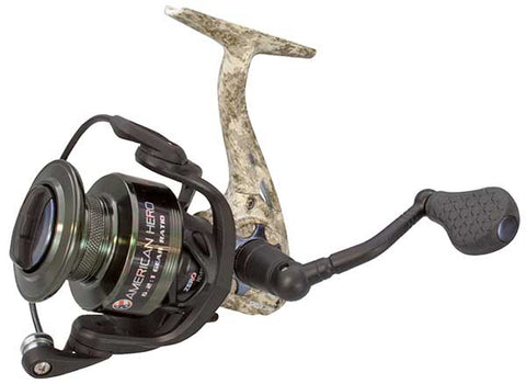 Lew's American Hero Camo Spinning Reel