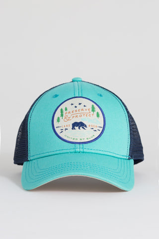 United By Blue Womens Preserve and Protect Trucker Hat
