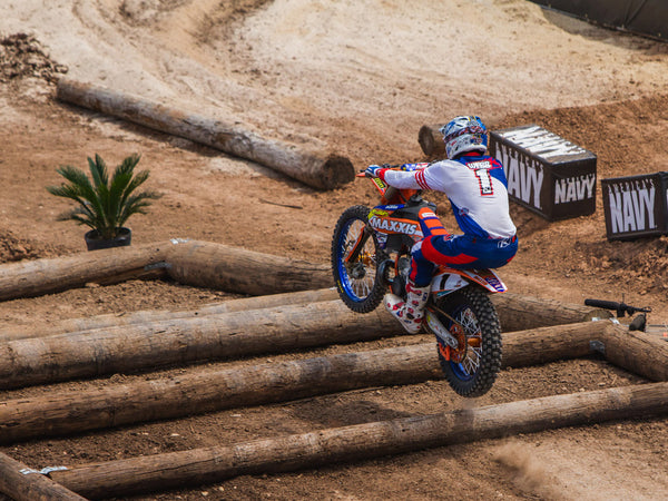 Picture by Brian Pierce of Cody Webb from the 2015 X Games Endurocross Photo Epic