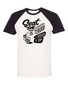 Limited Edition One Down Five Up Raglan Short Sleeve