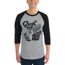 Load image into Gallery viewer, One Down, Five Up Shirt | Black and Grey Raglan