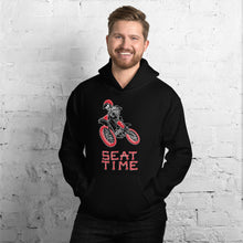 Load image into Gallery viewer, Vintage Motorcycle Skeleton Unisex Hoodie