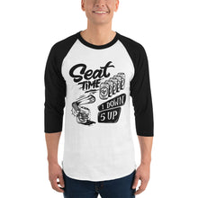 Load image into Gallery viewer, One Down, Five Up Shirt | White and Black Raglan