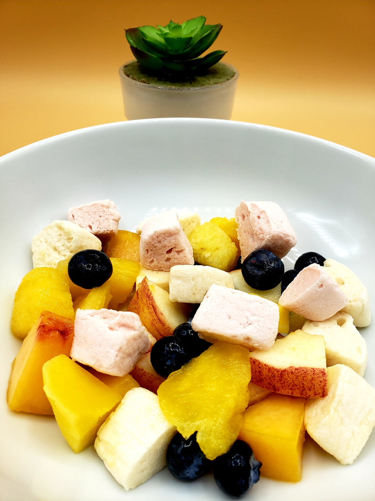 Marshmallow Salad: Funky Fruit Salad - Funky Mello
