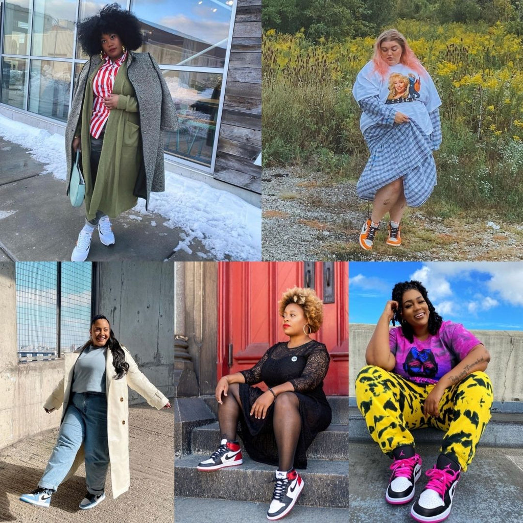40 Plus Size Women to Follow for Sneaker Style Inspiration