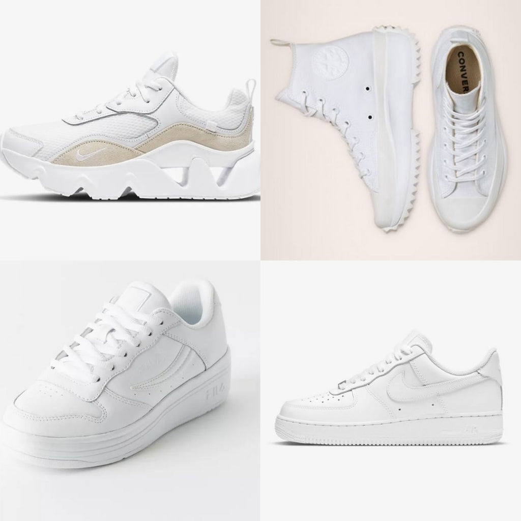 White Sneakers to Rock in Spring and Beyond