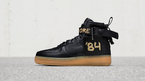 """Nike Special Field Air Force 1 Mid """"For Baltimore"""" (2017)"""