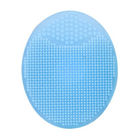 Blue Facial Exfoliating Silicone Washing Pad