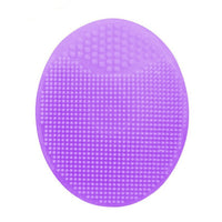 Purple Facial Exfoliating Silicone Washing Pad
