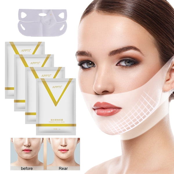 V Line Face lift Slimming Mask  5 pcs