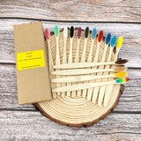 12 Pack Eco Friendly Bamboo Toothbrush