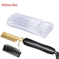 Flat Irons Straightening Brush without Box