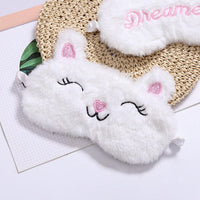 Cute Plush Sleep Eye Mask Sheep