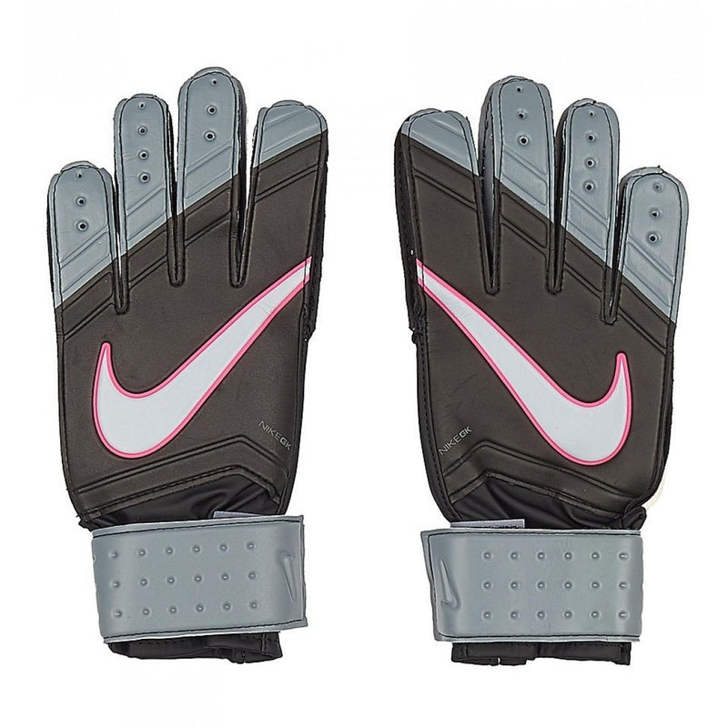 GK Match Glove (Black/Silver/Pink)