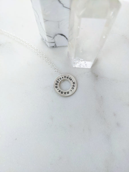 Names for Mom Necklace