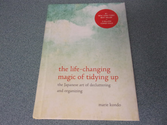 The Life-Changing Magic of Tidying Up by Marie Kondo Hardcover