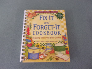 Fix-It and Forget-It Cookbook (Trade Paperback)