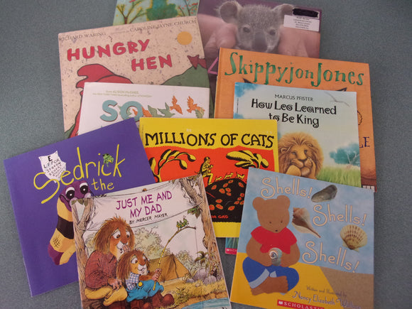 10 Assorted Picture Books for Younger Readers