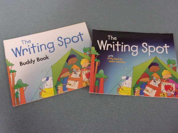 The Writing Spot: A Little Big Book For Early Writers & Buddy Book (Set)