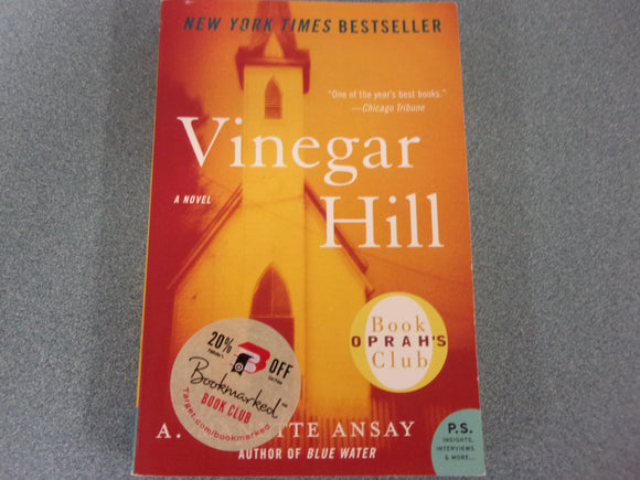 Vinegar Hill by A. Manette Ansay (Trade Paperback)